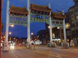 De ingang naar Chinatown