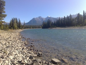 Banff Bow Rivier