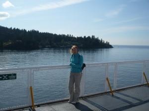 Op de boot naar Vancouver eiland