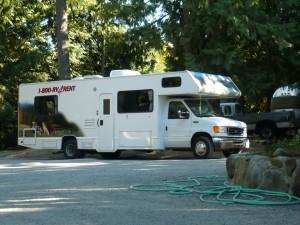 Een flink campertje van 30 ft. of wel 9 meter