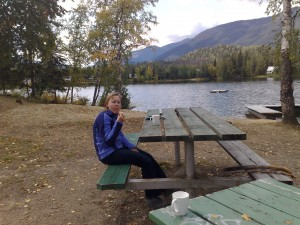 Lunch bij Emerald Lake