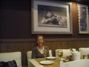 Restaurant Il Familia in Sami. Iets duurder maar wel goed.