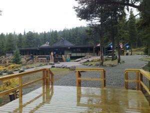 Maligne Lake bij het bezoekers centrum