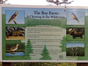 Hierdoor heet het Ray Farm Trail